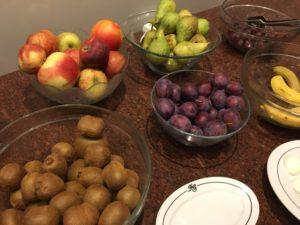 5種類の果物