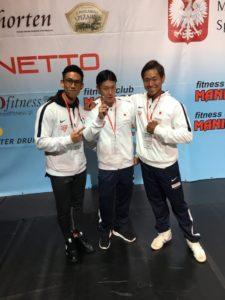 日本人選手3人